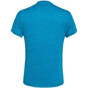 SALEWA Puez Melange Dry Camiseta Manga Corta Hombre, blue danube melange